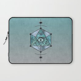 Sacred Geometry Eye Of Protection Laptop Sleeve