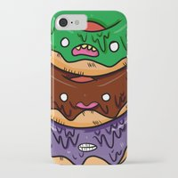 donut iPhone & iPod Cases featuring Donut by jeff'walker