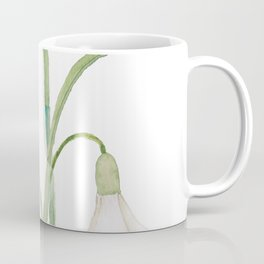 angelic snowdrop flowers watercolor Coffee Mug