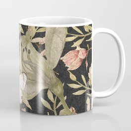 Florals & Glasswing 2 Coffee Mug