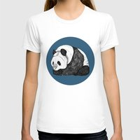 pandas T-shirts featuring Pandas by Diana Hope