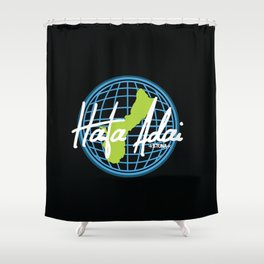 Hafa Adai Worldwide Shower Curtain