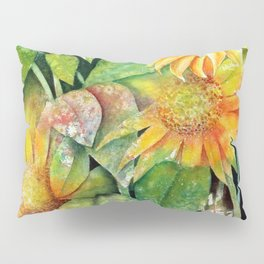 Colorful Sunflowers Pillow Sham