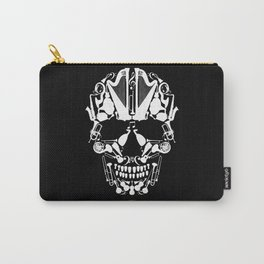 MUSICAL SKULL Carry-All Pouch