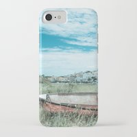 portugal iPhone & iPod Cases featuring Portugal by Sandy Broenimann