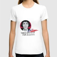 amelie T-shirts featuring Dreamer Amelie  by MissAtomicBomb