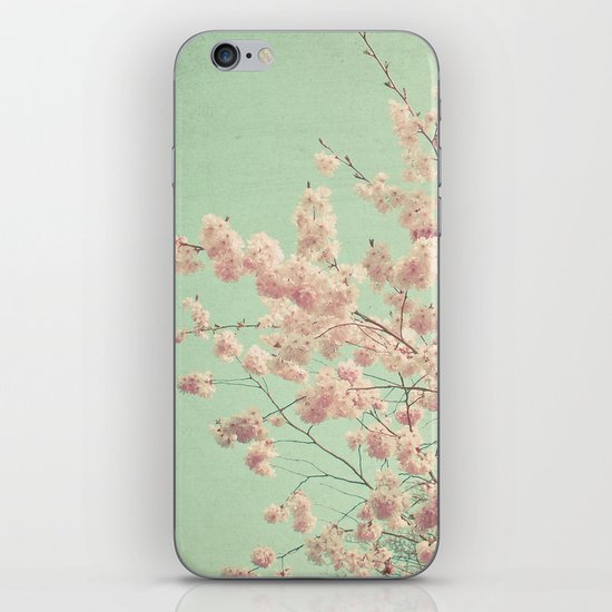Blossom Diptych iPhone & iPod Skin