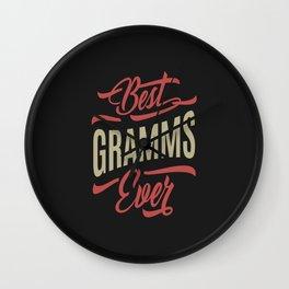 Best Gramms Ever Wall Clock
