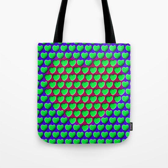 E-MOTION: Moving hearts Tote Bag