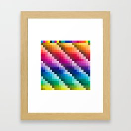 Color Palette Framed Art Print