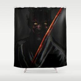 Katana Maul Shower Curtain