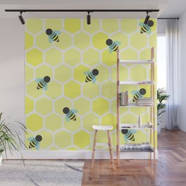Oh Honey Wall Mural