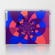 Kaleidoscope Purple Melon Cobalt Blue Laptop & iPad Skin