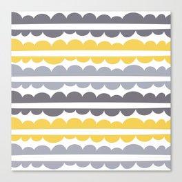 Mordidas Primrose Yellow Canvas Print