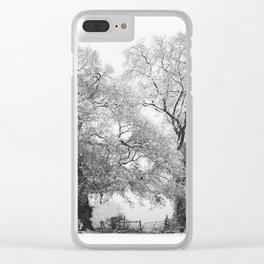 Snowbound Clear iPhone Case