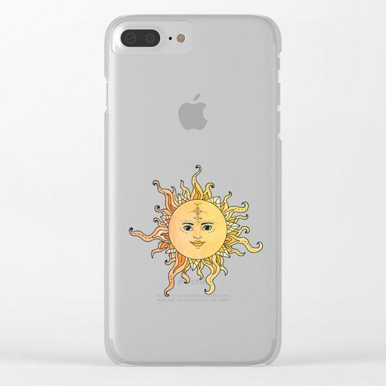 sun flower Clear iPhone Case