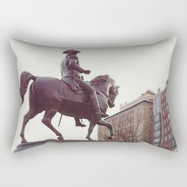 Washington in Boston Common Rectangular Pillow