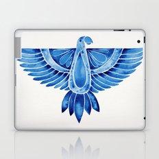 Navy Parrot Laptop & iPad Skin