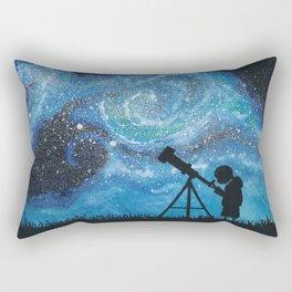 Observing the Universe Rectangular Pillow