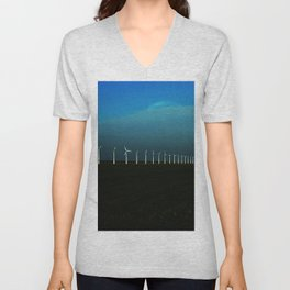 Windfarm Unisex V-Neck