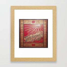 The Star of the Fairies Book Framed Art Print