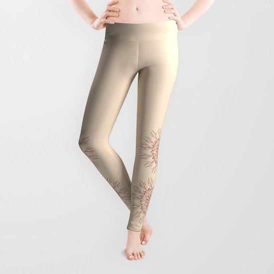 Mandala pastel  Leggings