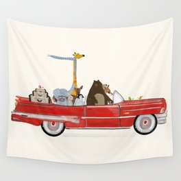 road trip trois Wall Tapestry