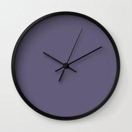 VA Mystical Purple / Metropolis Lilac / Dried Lilacs - Colors of the year 2019 Wall Clock