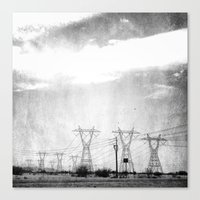 arizona Canvas Prints featuring Arizona by Whitney Retter