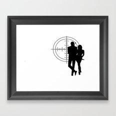 Double Oh Target... Framed Art Print