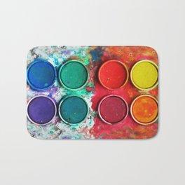 Paintbox Color Palette Bath Mat