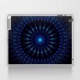 Blue Light Mandala Laptop & iPad Skin
