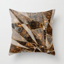 Shards 1 Throw Pillow