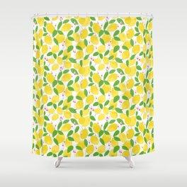 california lemons Shower Curtain