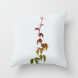 LEAVES IN THE HOUSE Throw Pillow