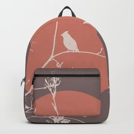 Bird on a branch 2 Backpack