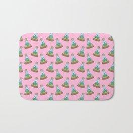 Cactus Terrarium on Pink - for proud plant parents Bath Mat