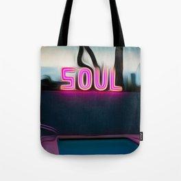 NEON POOL Tote Bag