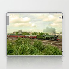 Flying Scotsman at Bristol Temple Meads Laptop & iPad Skin