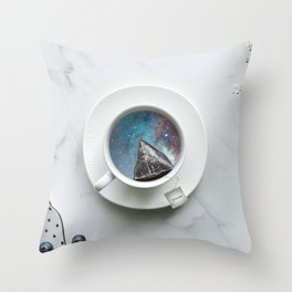 UNIVERSAL TEA Throw Pillow