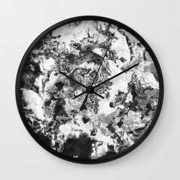 Winter - Study In Black And White Wall Clock