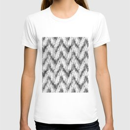 Simple black and white pattern. T-shirt