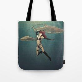 Shark Wrangler Tote Bag