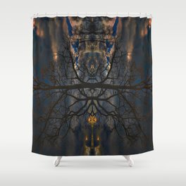 Treeflection II Shower Curtain
