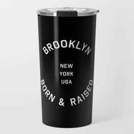 Brooklyn - NY, USA (Badge) Travel Mug