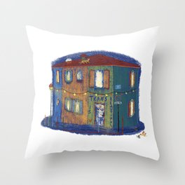 Trans Is Beautiful Throw Pillow
