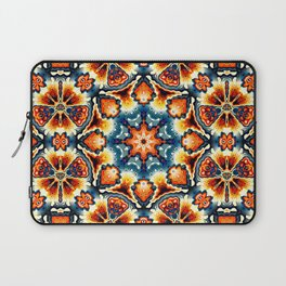 Colorful Concentric Motif Laptop Sleeve