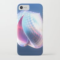 shell iPhone & iPod Cases featuring Shell by Lynn Bolt