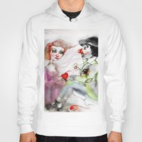 clown Hoodies featuring Clown by AliluLera