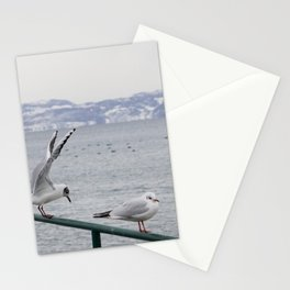 snow has arrived Stationery Cards